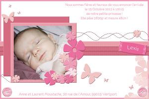 Carte-Faire-part-naissance-Scrap-Rose